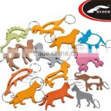 Various Shaped Promotional Custom Metal Bottle Opener Keychain