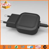 5V 2.1A Wall Type Power Travel Charger with Micro USB Cable