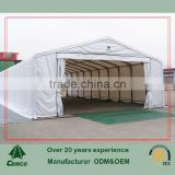 Hot sale Fabric warehouse tent , Hoticultural storage shelter, metal frame fabric building