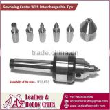 Live/Revolving Center With Interchangeable Tips at Best Selling Price