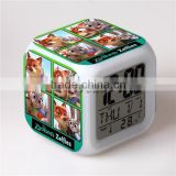 Top selling LED Alarm Clock,Digital desk clock,Zootopia Cartoon Clock for Kids