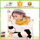 Hot selling wholesale custom cheapest fashionable wool pashmina knitted woman scarf