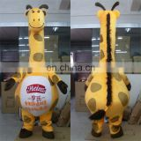 Adult Giraffe Mascot Costume from China