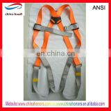 safety belt full body harness with lanyard