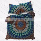Luxury Bohemian Oriental Mandala Bedding Quilt Duvet Cover Set colorful printed bedsheet