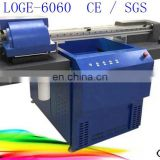 Double head flagon uv printing machine with emboss effect