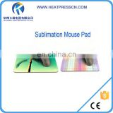 Good quality sublimation logo printing rubber mouse pad