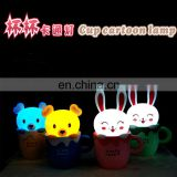 Decorative LED Cup Cartoon Lamp
