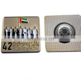 cheap promotional custom metal uae national day pin