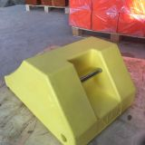 2018 Industry wheel chock blocks/stoppers PU foam parking used for 250T cars or truck,