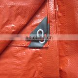 just for Dubai market high quality waterproof cover orange pe plastic tarpaulin