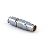 Push-pull self-latching FGA.1B.312.CLAD62Z 30 degree plug connectors