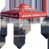 Colorful Printed Outside Folding Canopy Tent with Aluminum Frame And Portable Canopy Shelter