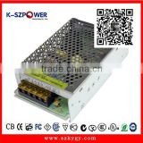 2015 K-89 ac/dc switching 100.220vac 12v5a 6v5a 24v2.5a power supply for LED CCTV Surveillance Camera