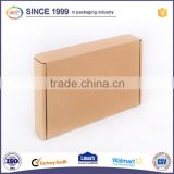 Full Color Printed Rectangle Folding design ship flat box