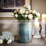 modern style nautical home decoration glass vases for wedding centerpieces