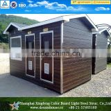 outdoor movable porta potty/portable public toilet cabins/mobile prefab restroom wc                                                                         Quality Choice