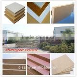 Standard size high quality good price raw plain MDF(Medium Density Fiberboard),melamine MDF/melamine laminated MDF