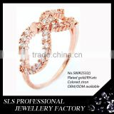 Finger ring designs jewelry factory wholesale sterling silver 925 fashion rose gold jewelry women rings