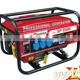 Swiss Kraft Generator 1.5kw 2kw 2.5kw 3 Phase Portable Gasoline Generator Honda Engine 168F-1 For Home Use