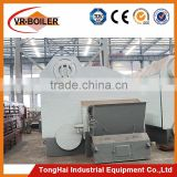 With CE certificate horizontal straw burning steam boiler for textile industry