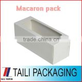 Paper box macaroon packing macaron packaging