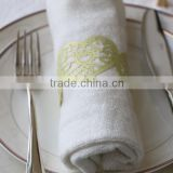 Wholesale Laser Cut Christmas Party Decoration Cheap Napkin Ring MJ-1