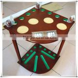 High Quality Wooden Billiard Cue Rack With Scoreboard                                                                         Quality Choice