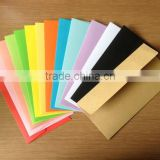 OEM black envelope, red envelope, high quality orange envelope manufacturer, paper card and envelope set, kraft envelope