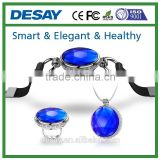 Desay iOS Android Pedometer Clock Sport Data Share Smart Jewelry Ring Necklace Bracelet DS-J500