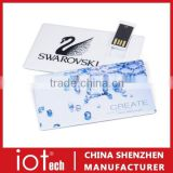 OEM Custom Logo Credit Card USB, Promotional Gifts USB Card, USB Business Card 2GB 4GB 8GB