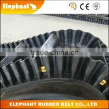 Material Handling Clapboard Conveyor Belt/Long Operating Life Steeply Inclination Rubber Fabric Belt
