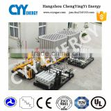 ambient air vaporizer / carburetor for cryogenic liquid nitrogen, oxygen, argon storage tank