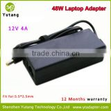 Replacement 48W 12V 4A Laptop Backup Battery Charger with 5.5*2.5mm