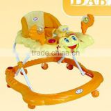 Plastic Baby Walker/Carrie with Cotton Backrest Foldable&Detachable new model baby walker