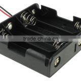 "High quality 4 ""AA"" Battery Holder with Leads ,BH348 battery holder"