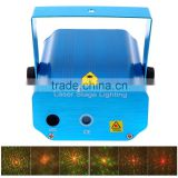 Portable multi led Projector DJ Disco Light music Stage lights mas Party wedding club show Laser Lighting projector Blue