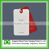 All kinds of directly factory plastic hang tag with clip