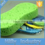 HF-JS-01 Car Wash Cleaning Sponge Applicator Newest Compressed Car Wash Sponge 8 the Word Car Cleaning
