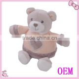 Funny baby bear soft toys with T-shirt gift bear