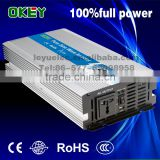 CE ROHS Approved zhejiang LEYU brand wholesale solar system 2000w pure sine wave DC AC power inverter