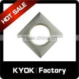 KYOK factory supply curtain eyelet plastic grommet curtain accessories,silence circle 16-28mm rome ring silver
