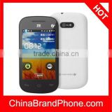 ZTE U791 White, 3.5 inch Android 2.3 Capacitive Screen Smart Phone, SC8810 Single Core 1024MHZ