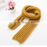 Children Scarf Kids Plus Velvet Scarf Wool Knitted Winter Neck Scarves Wrap Boys Girls Cachecol Feminino Baby Scarf