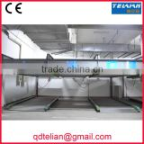 intelligent double floor vertical-horizontal parking lot automated 2 deck lift-sliding car parking machinery equipment