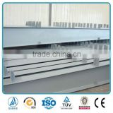 Quality colourful eco-friendly structure steel Beam for steel structure warehouse / Workshop Building