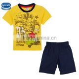 (CD4815) wholesale 18M-6Y casual children sets china factory kids t-shirt and short sets