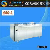 Salad Bar Refrigerator For Sale In Restaurant Equipment 480L (SY-RT480FSL SUNRRY)