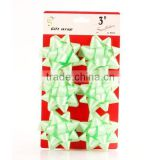 Durable small fluffy plastic ribbon star bow