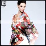 High-end Silk Printed Scarf